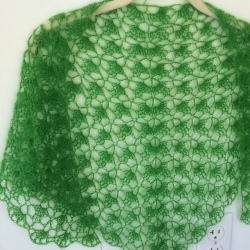 South Bay Shawlette by Lion Brand