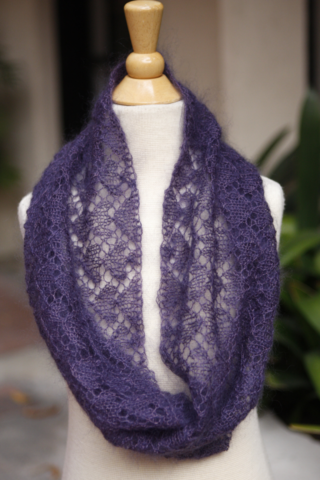 Circle of Love Lace Cowl by Evelyn A. Clark
